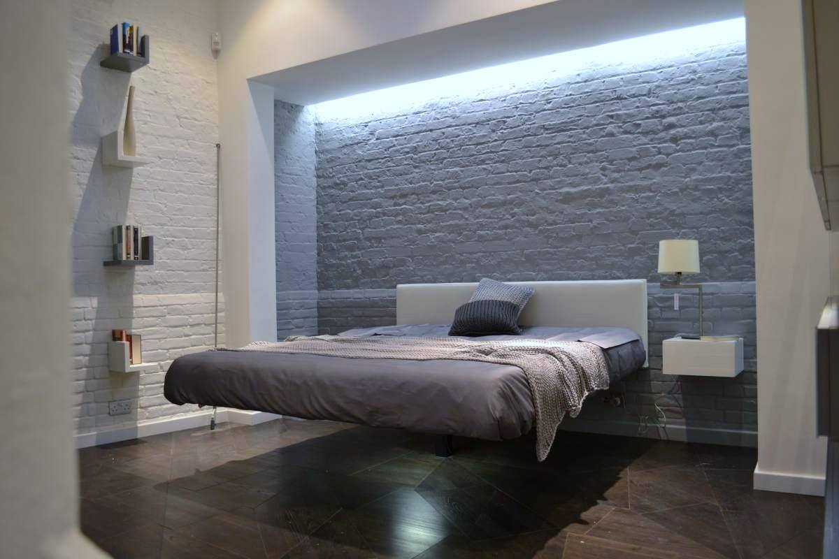 lit design suspendu cool lit places suspendu fluttua lit. Black Bedroom Furniture Sets. Home Design Ideas