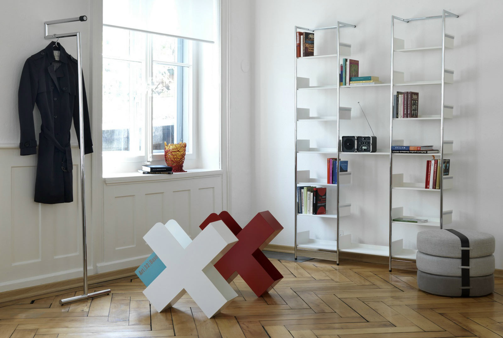 Meuble design rangement - Rangement salon design ...