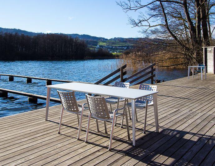 Outdoor meubles design mobilier et luminaires for B architecture delemont